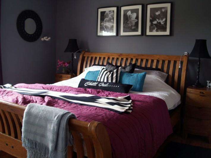 Ciemna sypialnia  Inspiracje wnętrza  Pinhouse