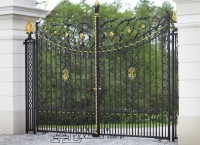 Brama kuta ogrodzeniowa
