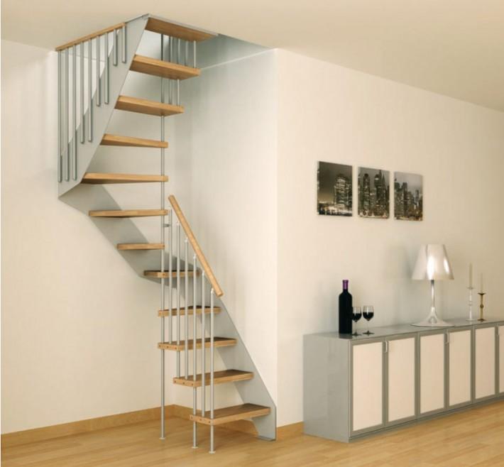 W superbly wąskie schody na piętro | Inspiracje wnętrza | Pinhouse OK82