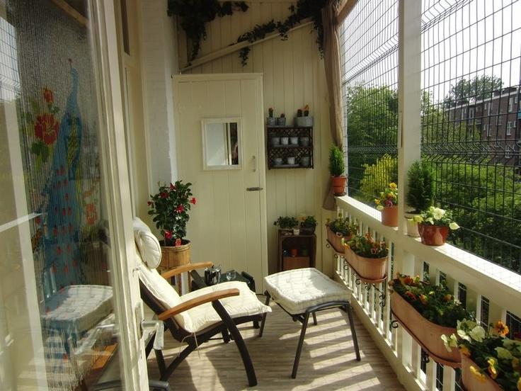 balkon dla właściciela kota