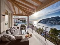 balkon z widokiem