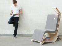fotel dla czytelnika