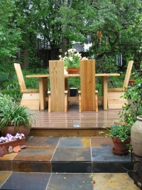 drewniany taras