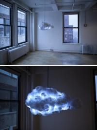 niesamowita oryginalna lampa chmura burzowa
