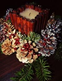 DIY – Christmas cone decoration