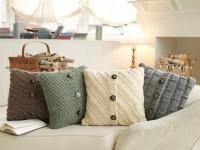 swetrowe poduszki