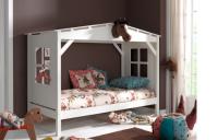 Drewniane łóżko domek – FD