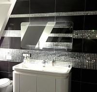 Mozaika Szklana Diamentowa SREBRNA A121 – Mozaika szklana, złota, srebrna, czarna, biała,  ...