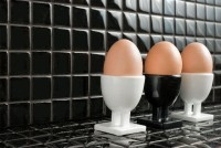 Mozaika szklana i metalowa w kuchni. Ekskluzywne wykończenia kuchennych wnętrz – Living Room
