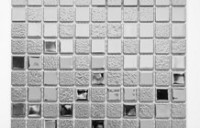 Mozaika Szklana Srebrna A115 – primavera.sklep.pl – zdjęcie od PRIMAVERA-HOME.COM