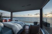 sypialnia z zapierającym pierś widokiem