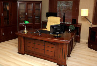 Zestaw biurowy PRESTIGE 1,6 m biurko + pomocnik + kontener / Produkt / Meble do sypialni, kuchni ...
