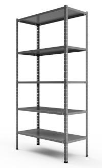 Regał metalowy magazynowy Steel z udźwigiem do 90 kg na półkę