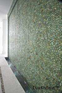 Otoczaki na ścianie – ściana z otoczaków