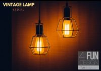 Lampa Loft vintage