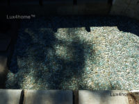 Mozaika kamienna z otoczaków – plastry otoczaków