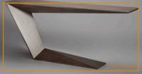 Biurko z jedną boczną nogą