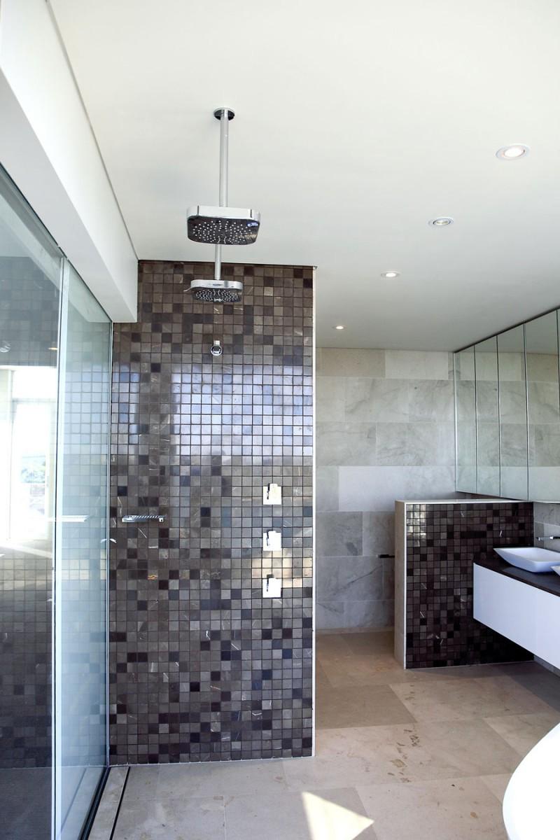 Szara łazienka Wnętrza Inspiracje