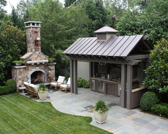 kominek-patio