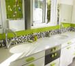 zielono-czrno-biale