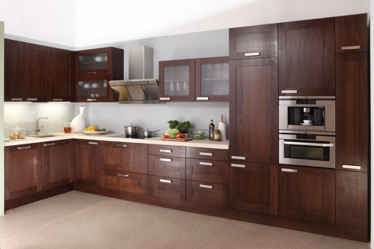 Mała kuchnia? To nie problem!  Wnętrza inspiracje -> Kuchnia Drewniana Krakpol