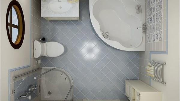 10 porad na efektywne urządzenie wnętrza małej łazienki - Wnętrza inspiracje