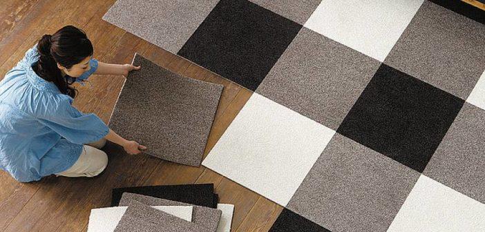 Czym są dywanowe płytki?